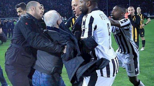 Озброєний російський бізнесмен зірвав футбольний матч у Греції