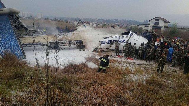 Понад 40 людей загинули внаслідок авіакатастрофи в Катманду