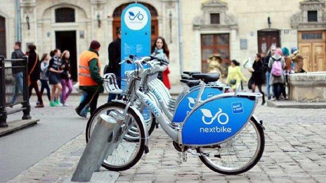 Сервіс муніципального велопрокату Nextbike вдвічі знизив ціни на разові поїздки у Львові
