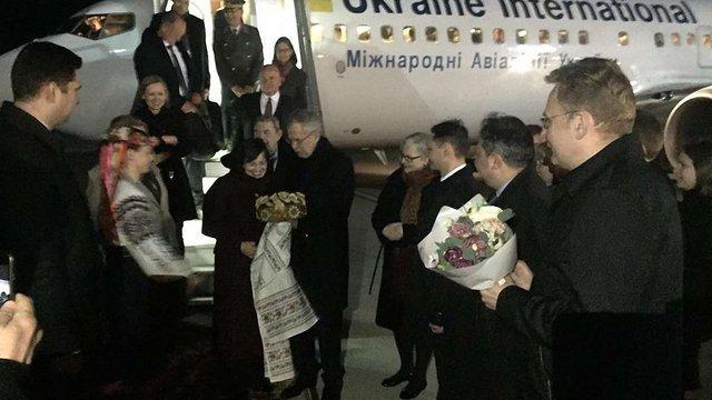 До Львова прибув Президент Австрії
