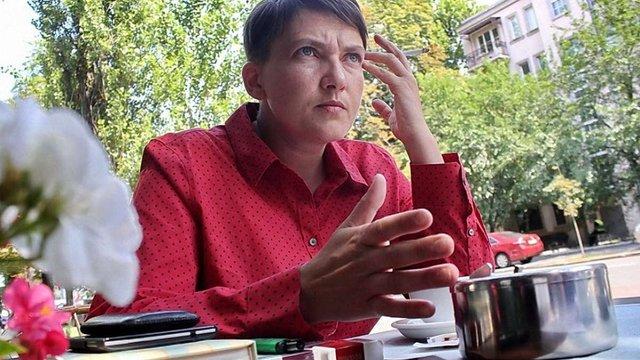 Генпрокурор звинуватив Надію Савченко у підготовці теракту у Верховній Раді