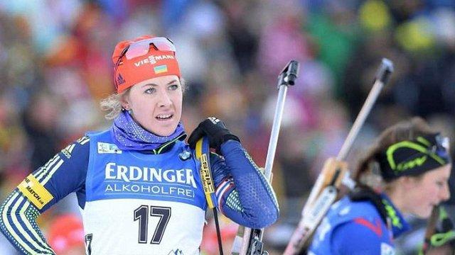 Юлія Джима виграла бронзу в спринті на Кубку світу з біатлону