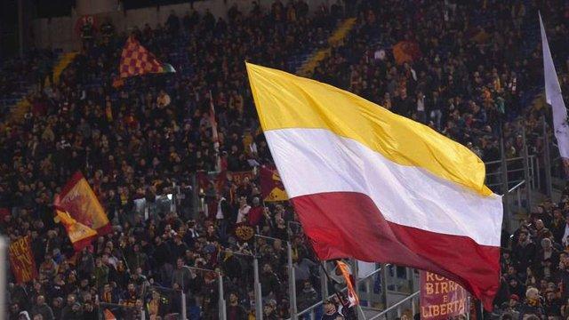 УЄФА розгляне інцидент з появою прапора «ДНР» на секторі «Роми» в матчі з «Шахтарем»