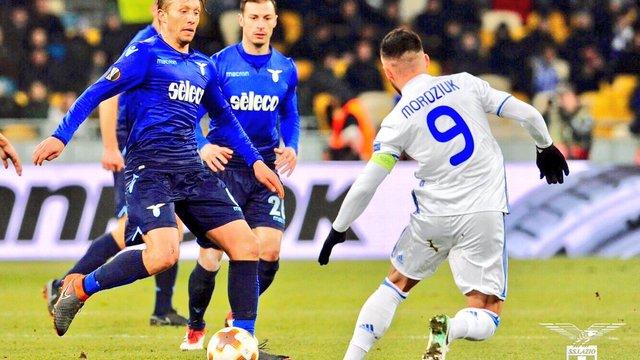 «Динамо» програло «Лаціо» та вилетіло з Ліги Європи