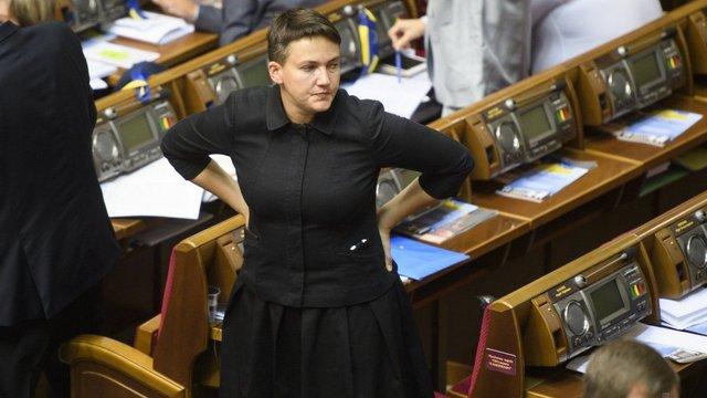 До Верховної Ради надійшло подання ГПУ на затримання і арешт Надії Савченко