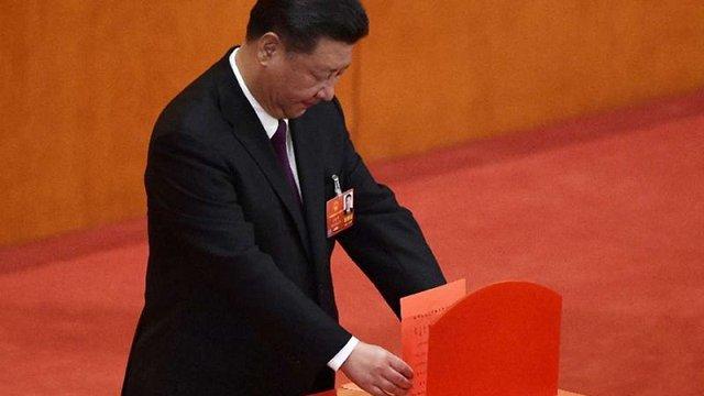 Сі Цзіньпіна одноголосно переобрали на посаду голови КНР