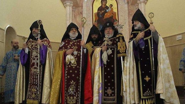 У Дніпрі освятили найбільшу у Східній Європі вірменську церкву