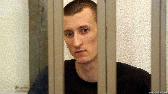 Українського політв'язня Кольченка на 13 діб помістили в штрафний ізолятор в Росії