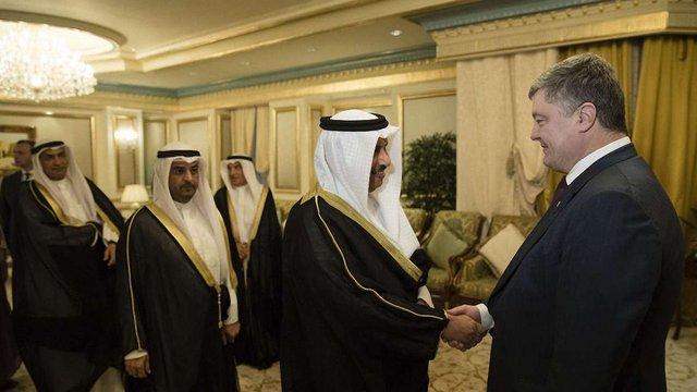 Порошенко запросив арабських бізнесменів Кувейту взяти участь у приватизації в Україні
