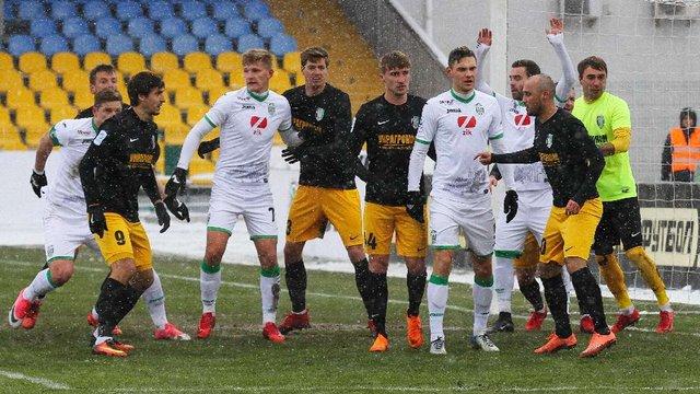 Львівські «Карпати» зіграли у нічию з «Олександрією»