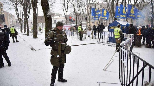 Активісти націоналістичних організацій у Львові завершили акцію біля генконсульства РФ
