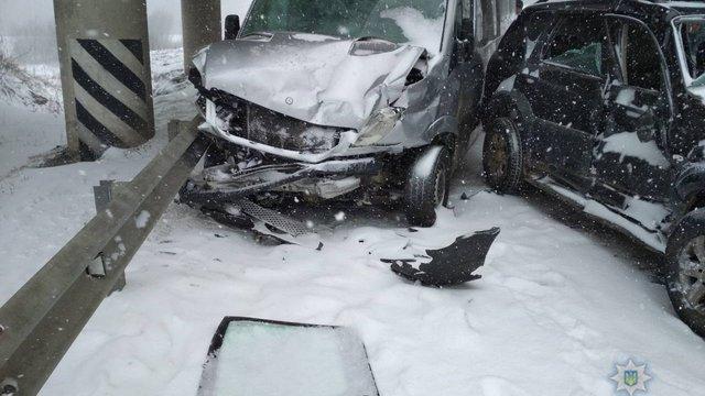 У ДТП під Львовом постраждали шестеро мешканців Сум