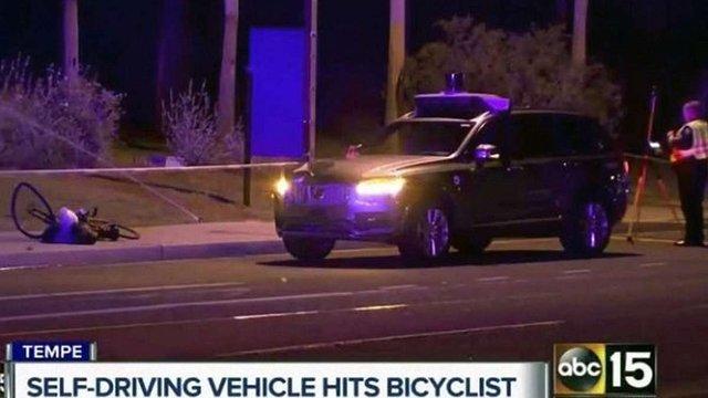 Поліція не знайшла провини безпілотного таксі Uber в смертельній ДТП в США