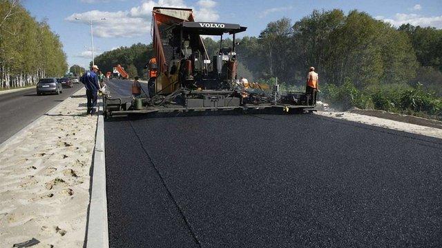 В Україні назвали середню вартість ремонту одного кілометра дороги