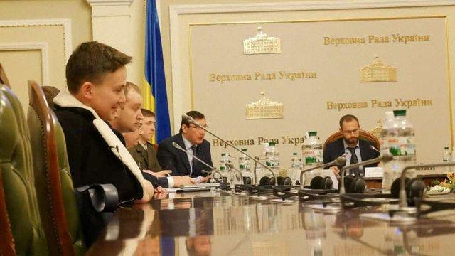 Офіцер ЗСУ засвідчив, що Савченко вербувала його для теракту, - Луценко