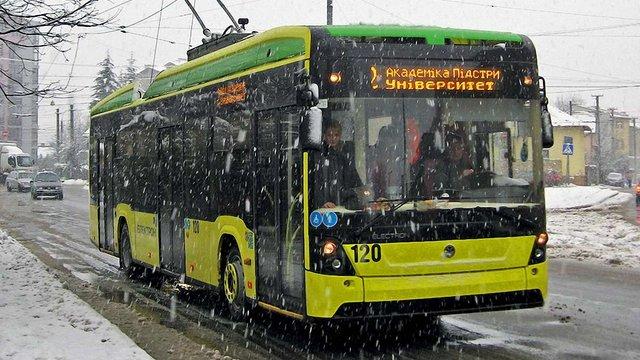 Депутати Львівської міськради погодили отримання кредиту ЄБРР на придбання нових тролейбусів