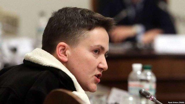 До суду надійшло клопотання про арешт нардепа Надії Савченко