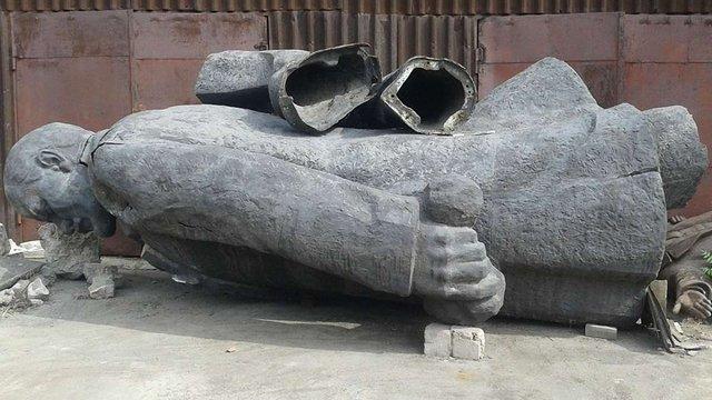 На ProZorro виставили на продаж два пам'ятники Леніну