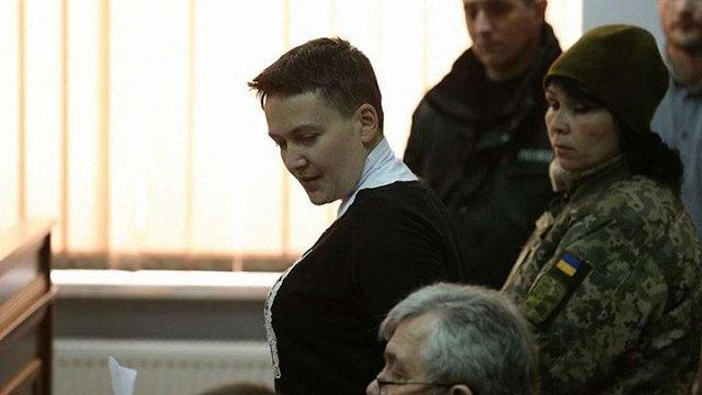 Надія Савченко оголосила голодування