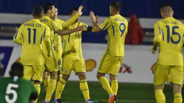 Збірна України зіграла у нічию з Саудівською Аравією