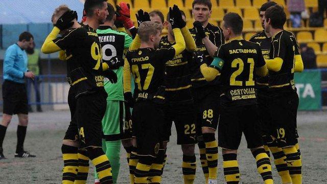 «Рух» у Львові переміг лідера Першої ліги «Арсенал»