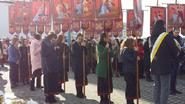 На Сихові віряни УГКЦ провели Хресну ходу