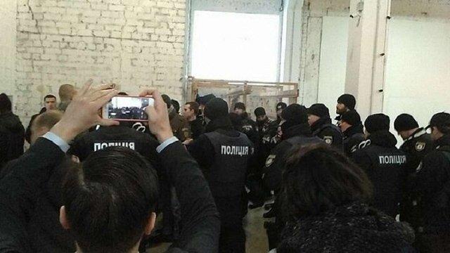 У Києві праворадикали намагалися зірвати дискусію про поширення ультраправих рухів