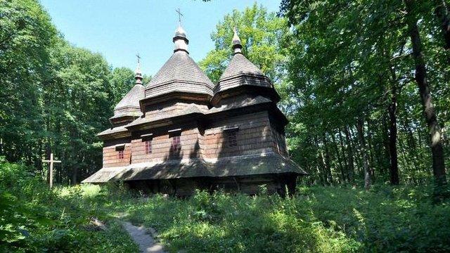 У «Шевченківському гаю» за ₴1,35 млн відреставрують дерев'яну церкву XIX ст.