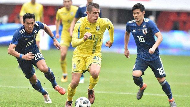 Збірна України у товариському матчі здолала збірну Японії