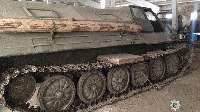 ГПУ заперечила інформацію про розпродаж військової техніки на Житомирщині