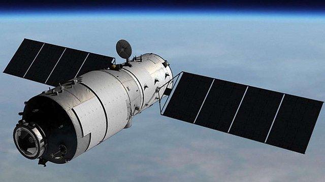На початку квітня китайська орбітальна станція впаде на Землю