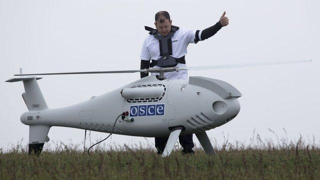 ОБСЄ поновлює аерофоторозвідку дронами на Донбасі