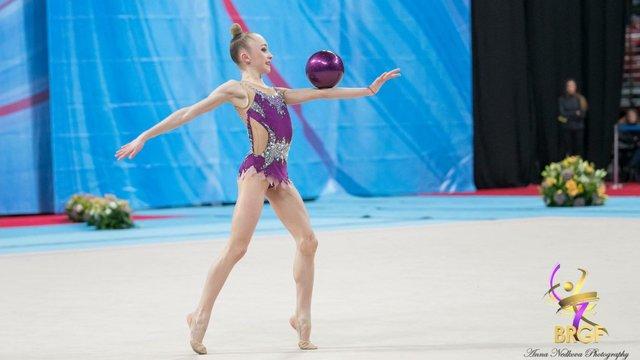 14-річна львівська гімнастка завоювала п'ять медалей міжнародного турніру в Болгарії