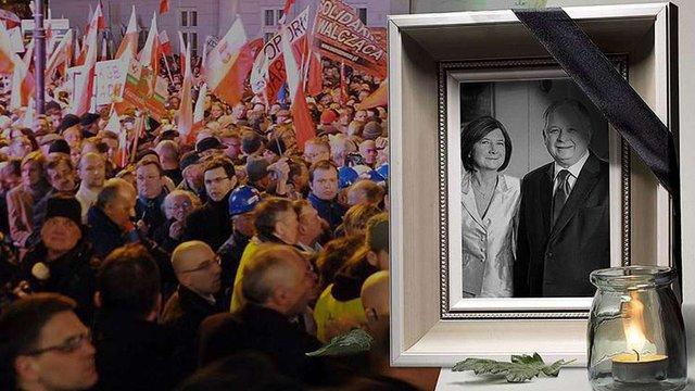 У Варшаві 10-го квітня відкриють пам'ятник жертвам Смоленської трагедії