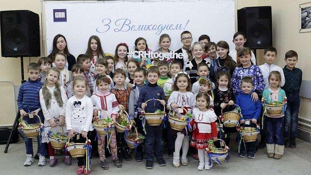 До Великодня компанія CRH в Україні провела пасхальний майстер-клас для дітей працівників