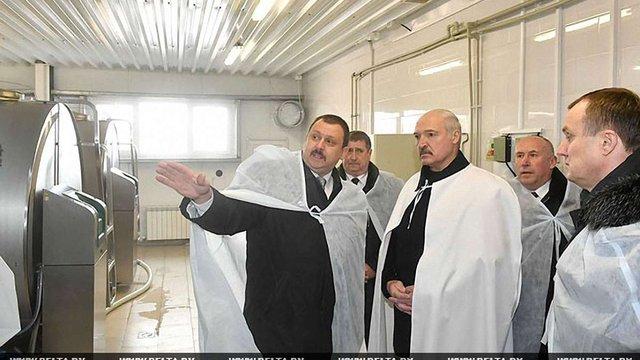 Лукашенко закликав білоруських виробників шукати інші ринки замість російського