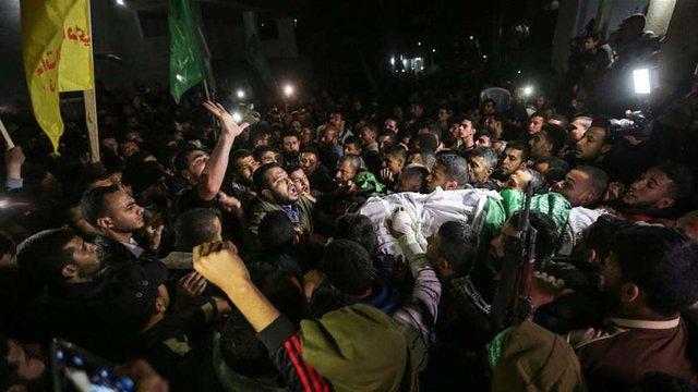 Кількість загиблих у сутичках в Секторі Ґази збільшилася до 17-ти