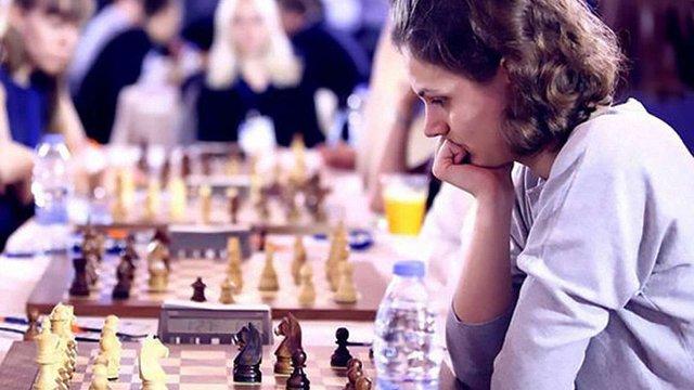 Анна Музичук посіла третє місце на чемпіонаті Європи зі швидких шахів