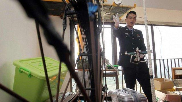 У Китаї контрабандисти доправили до країни дронами смартфони на $80 млн