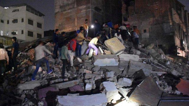 В Індії завалився чотириповерховий готель, загинули 10 людей