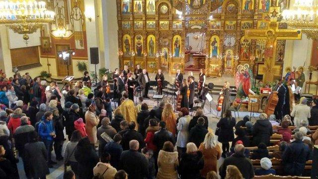 У Львові відбулась традиційна містерія «Страсті Христові»