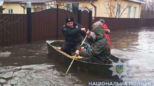 Місто Охтирка на Сумщині охопила повінь