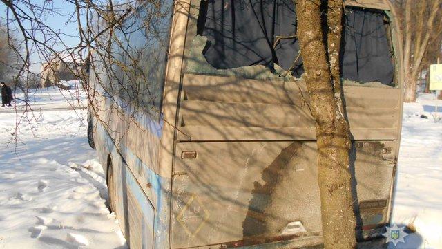 Поліція встановила особу викрадача туристичного автобуса у Жидачеві