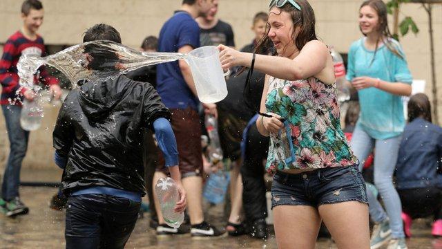На святкування Обливаного понеділка львів'янам виділили три години