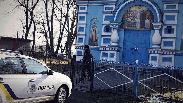 На Рівненщині поліція взяла під охорону церкву через конфлікт конфесій