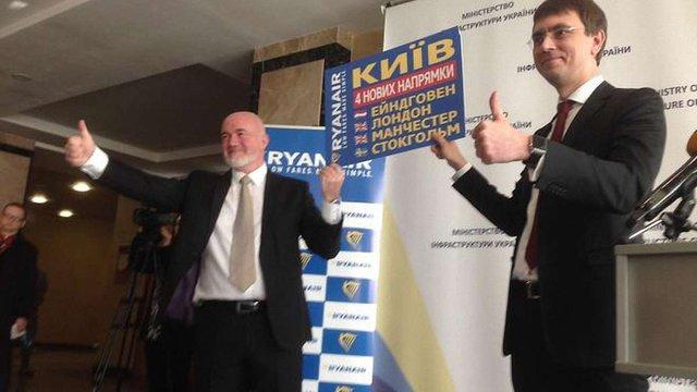 Омелян заперечив ймовірність ризиків для початку роботи Ryanair в аеропорту «Бориспіль»