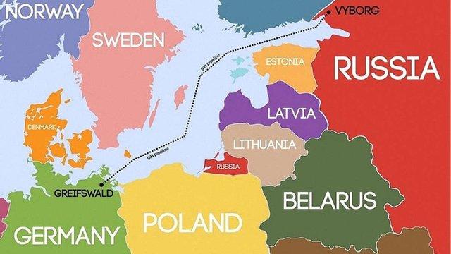 Єврокомісія не збирається підтримувати російський «Північний потік-2»