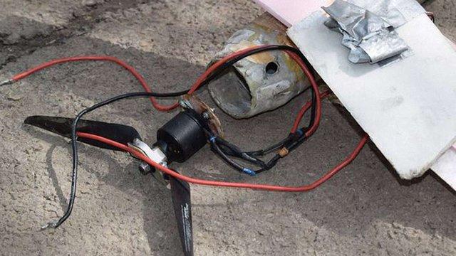 Українські військові знайшли ворожий безпілотник із вибухівкою
