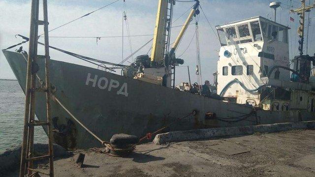 Екіпаж затриманого «Норду» намагався перетнути адмінмежу з Кримом за російськими паспортами