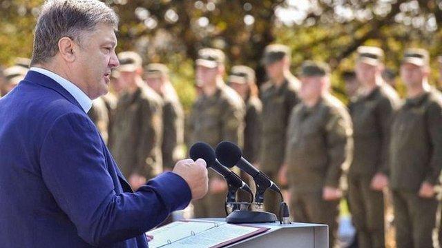 Порошенко заявив про прогрес у питанні введення миротворців на Донбас